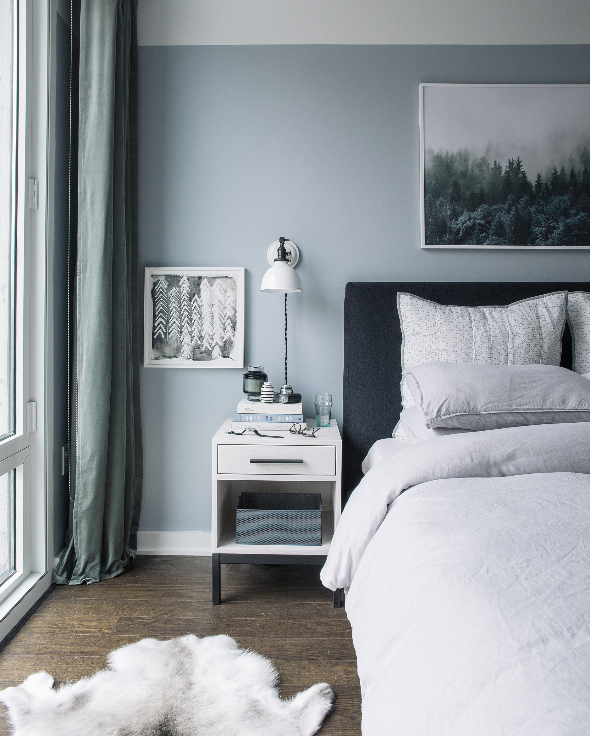 gray bedroom decor inspiration