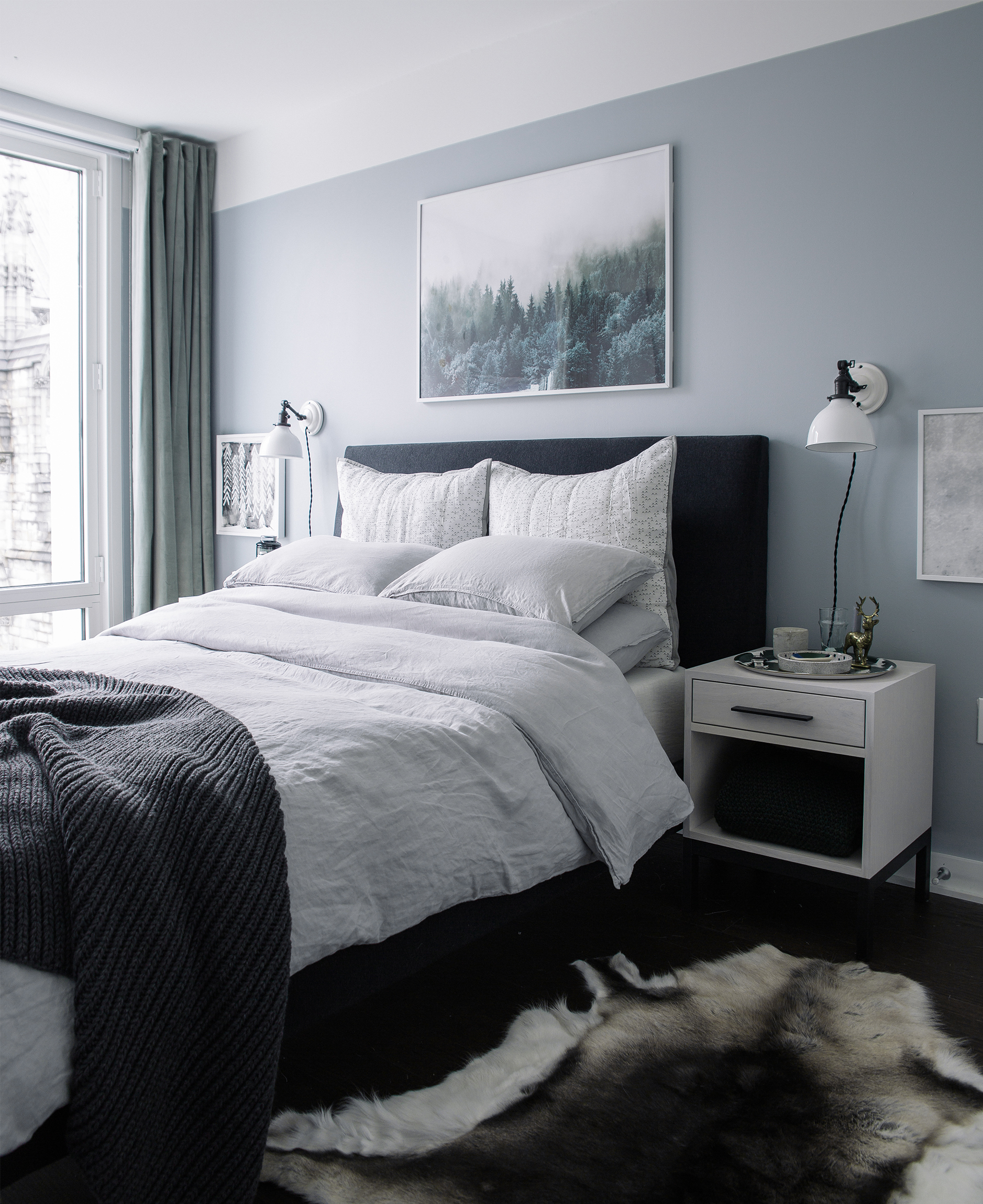 gray colors for bedrooms bedroom makeover the reveal bright bazaar by will 15461