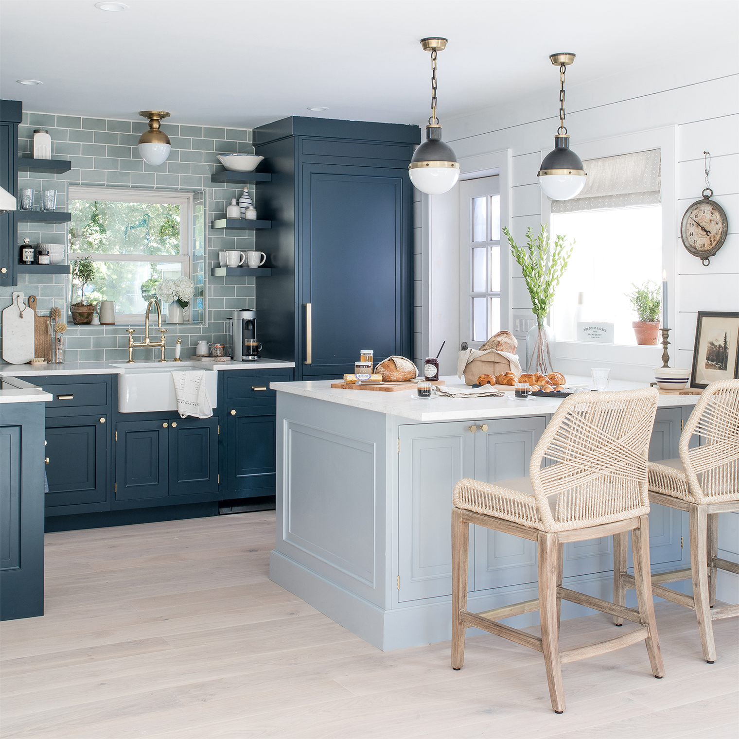 Elegant Beach House Decor: Our Beach House Kitchen: The Reveal