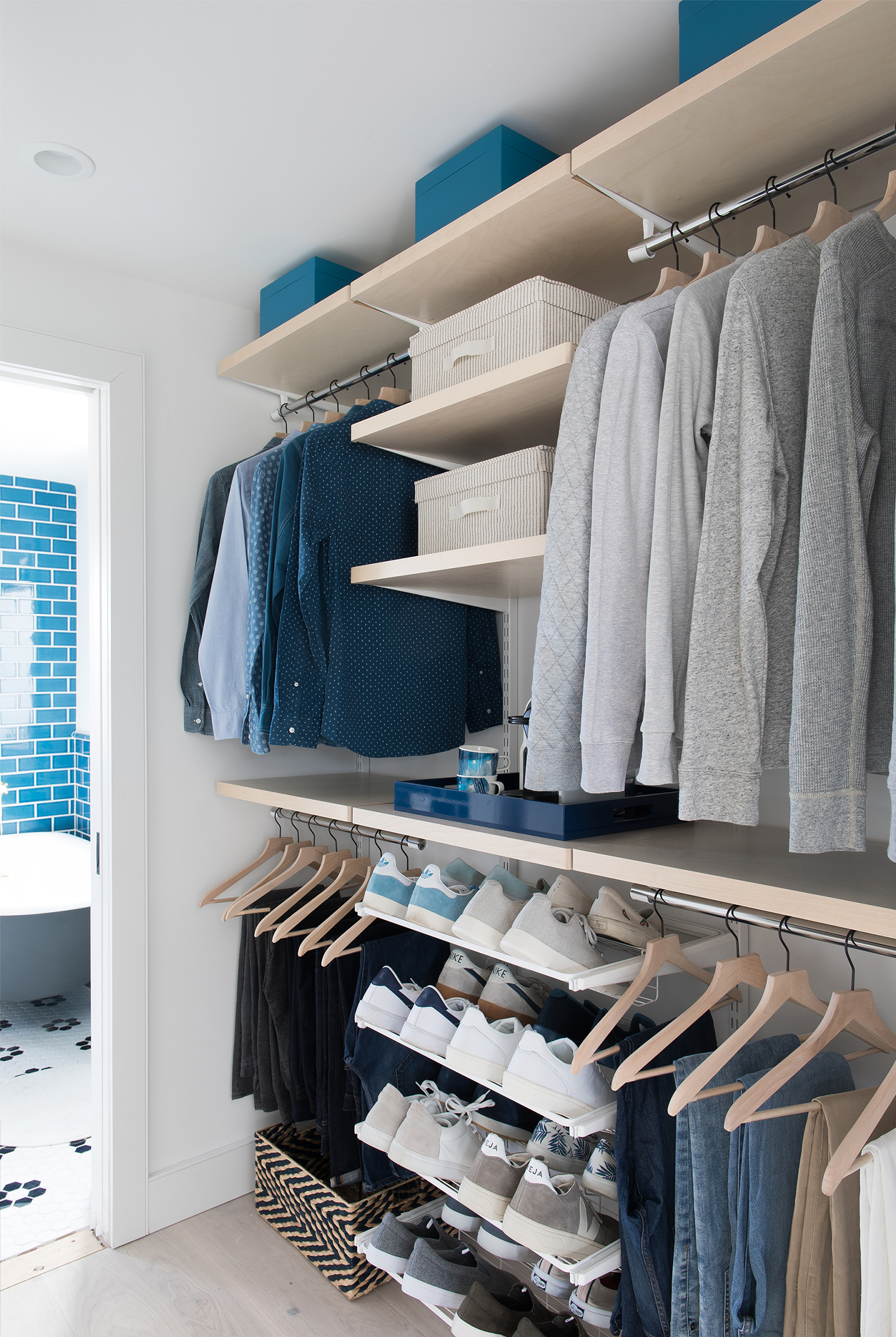 Elfa Closet Reveal At The Beach House Explore The Before