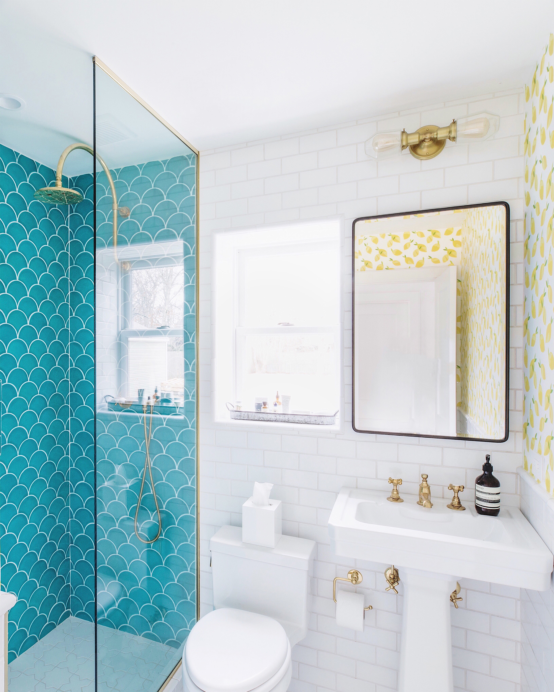 Beach House Guest Bathroom Reveal - Bright Bazaar by Will Taylor