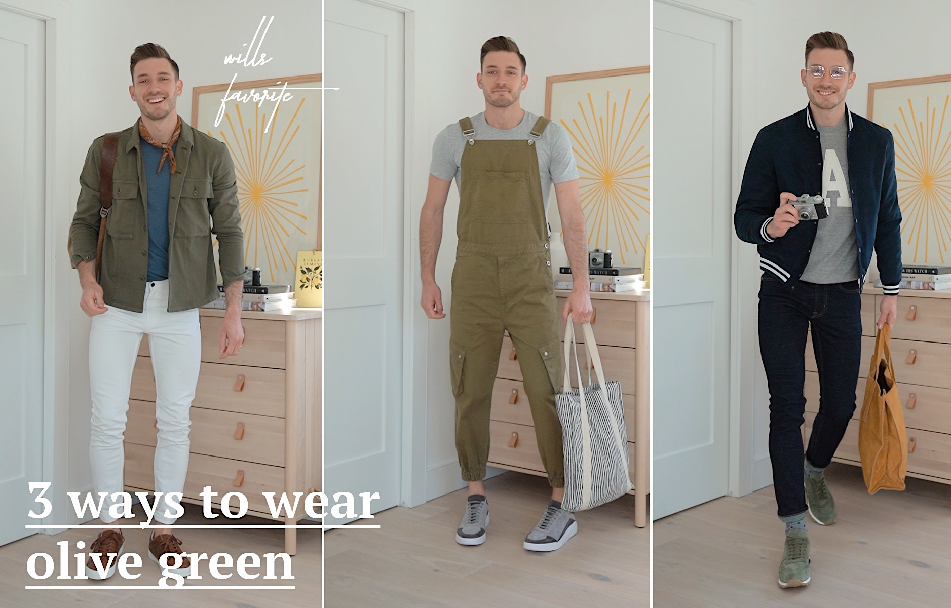 Three Ways To Wear Olive Green Outfits Bright Bazaar Blog